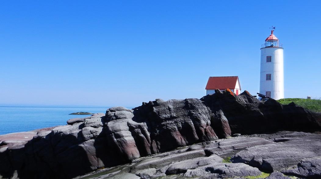 Le phare de l'Île Verte